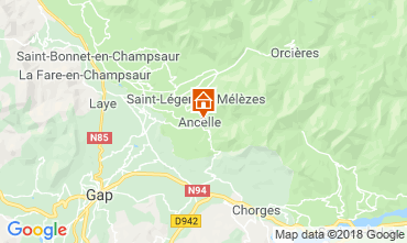 Mappa Ancelle Chalet 116834