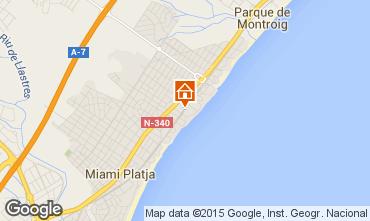 Mappa Miami Playa Appartamento 54813