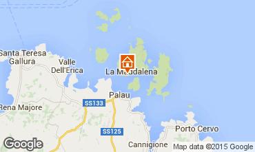Mappa La Maddalena Appartamento 93513