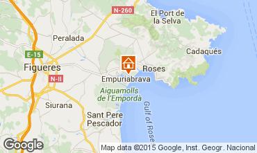 Mappa Empuriabrava Villa  53410