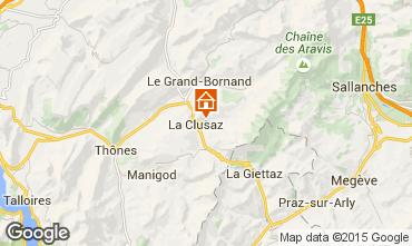 Mappa La Clusaz Appartamento 80429