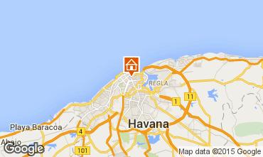 Mappa L'Avana B&B 101444