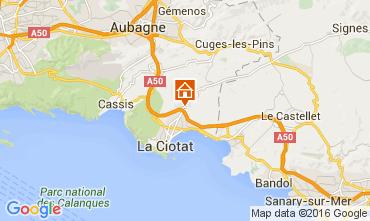 Mappa La Ciotat Villa  85839