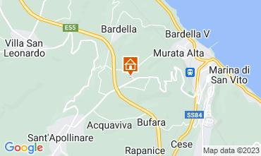 Mappa San Vito Chietino Appartamento 105816