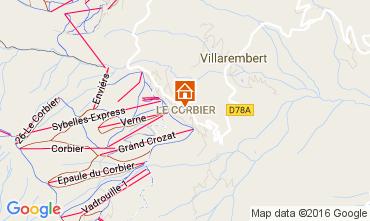 Mappa Le Corbier Monolocale 106438