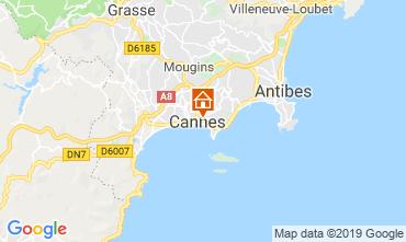 Mappa Cannes Appartamento 119042