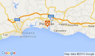 Mappa Praia da Rocha Appartamento 65069