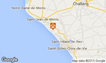 Mappa Saint Jean de Monts Casa mobile 60835