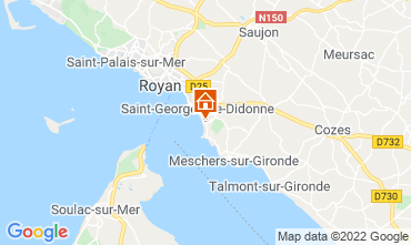 Mappa Royan Appartamento 75392