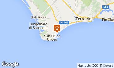 Mappa San Felice Circeo Villa  80428