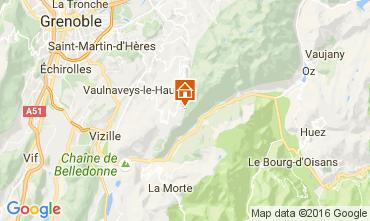 Mappa Chamrousse Appartamento 107300