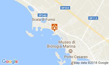 Mappa Porto Cesareo Appartamento 113516