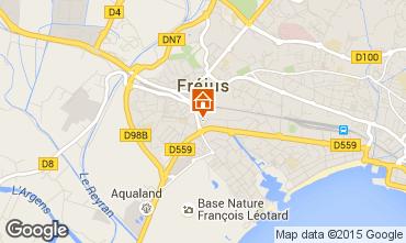 Mappa Fréjus Appartamento 90107