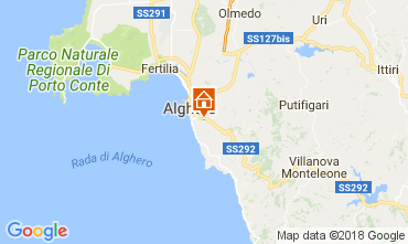 Mappa Alghero Villa  113265