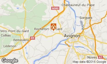 Mappa Villeneuve lez Avignon Villa  103227