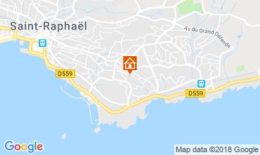 Mappa Saint Raphael Villa  116765