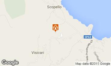 Mappa Scopello Villa  58328