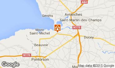 Mappa Mont Saint Michel B&B 83700
