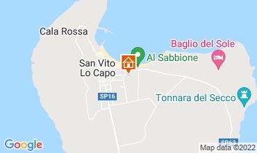 Mappa San Vito lo Capo Appartamento 81360