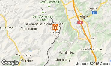 Mappa Châtel Appartamento 82338