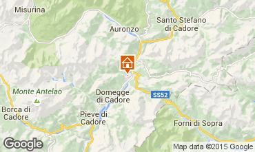 Mappa Auronzo di Cadore Appartamento 85967