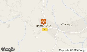 Mappa Ramatuelle Casa mobile 81199