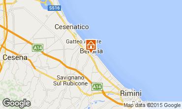 Mappa Bellaria Igea Marina Appartamento 82965