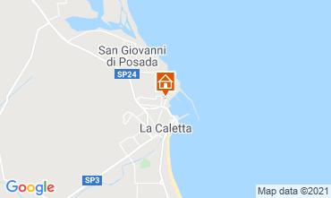 Mappa La Caletta Appartamento 109175
