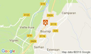 Mappa Saint Lary Soulan Villa  81833
