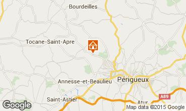 Mappa P�rigueux B&B 91708