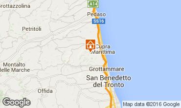Mappa Cupra Marittima Appartamento 54986