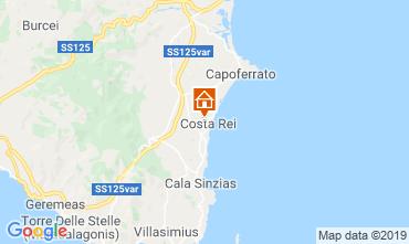 Mappa Costa Rei Appartamento 82236