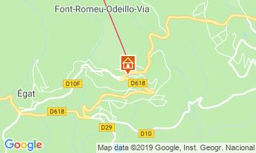 Mappa Font Romeu Appartamento 69937