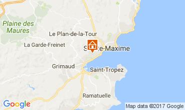 Mappa Saint Tropez Appartamento 110369