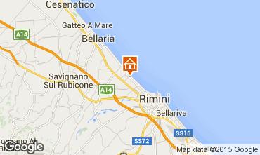 Mappa Rimini Monolocale 92967