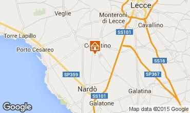 Mappa Porto Cesareo Appartamento 62353