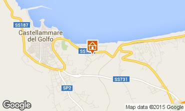 Mappa Castellammare del Golfo Appartamento 33477