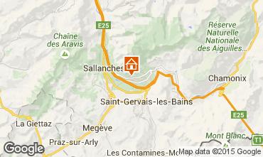 Mappa Chamonix Mont-Blanc (Monte Bianco) Chalet 651