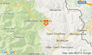 Mappa Serre Chevalier Appartamento 103769