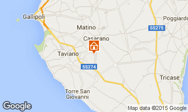 Mappa Ugento - Torre San Giovanni Villa  85621