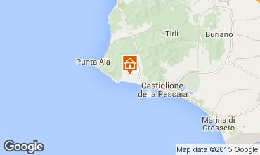 Mappa Castiglione della Pescaia Casa 52660