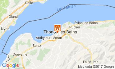 Mappa Thonon Les Bains Monolocale 108306
