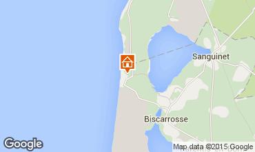 Mappa Biscarrosse Casa mobile 30327