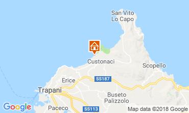 Mappa Trapani Appartamento 109292