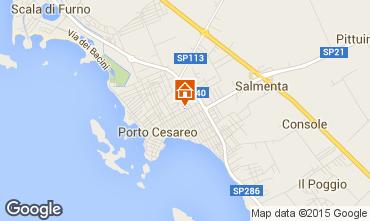 Mappa Porto Cesareo Appartamento 97017