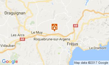 Mappa Roquebrune sur Argens Agriturismo 73123