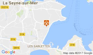 Mappa La Seyne sur Mer Appartamento 108988