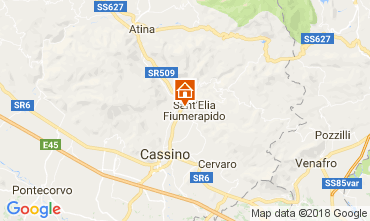 Mappa Cassino Casa 112870