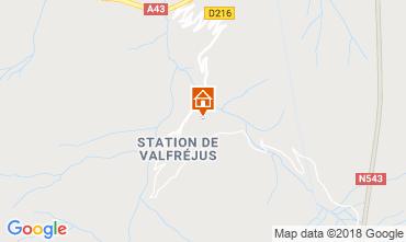 Mappa Valfréjus Appartamento 74342