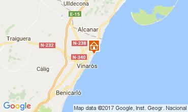 Mappa Vinaròs Villa  97392